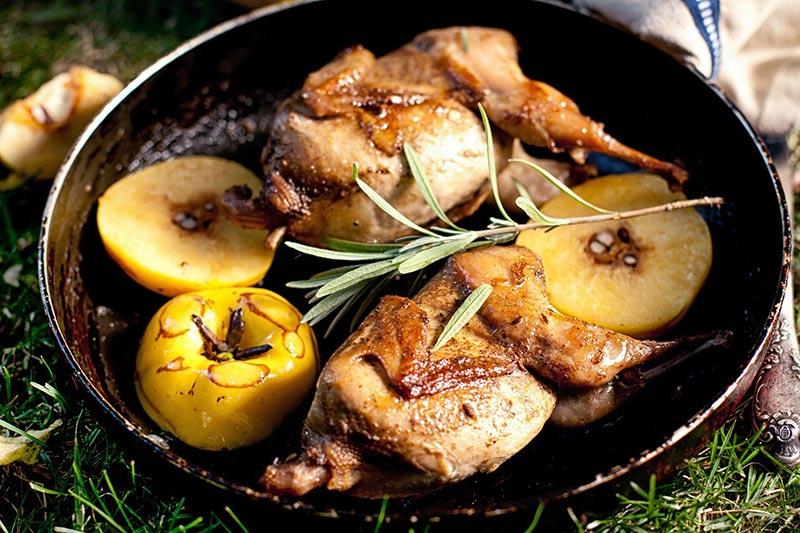 Фото блюда из айвы с курицей
