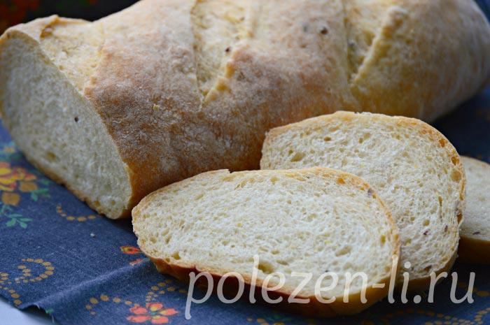 Фото хлеба нарезанного