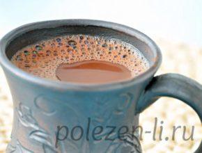 Фото какао в чашке крупно
