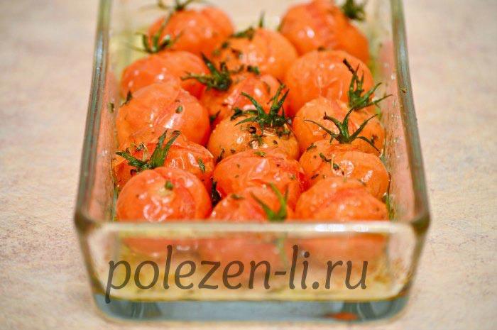 Фото помидор запеченый