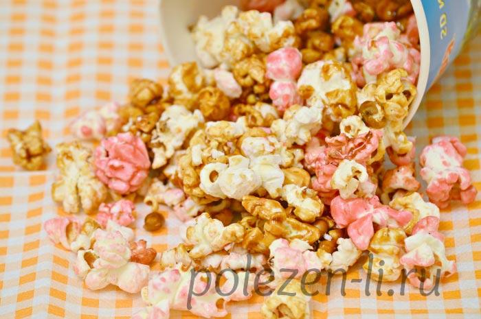 Фото попкорна, полезен ли попкорн