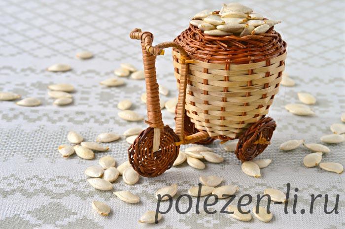 Фото семечек тыквы на столе