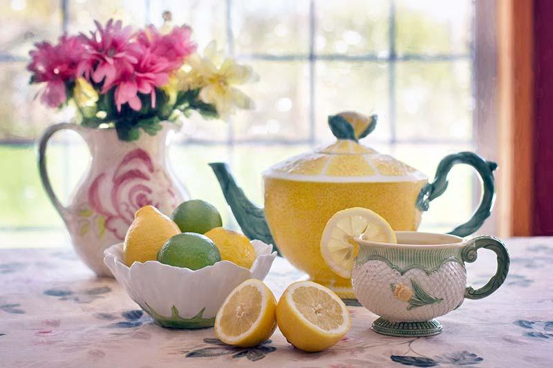Фото чая с лимоном, чем полезен чай с лимоном