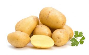 Картофель целый и нарезанный