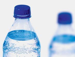 Бутылка газированной воды