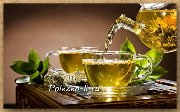 зеленый чай мята